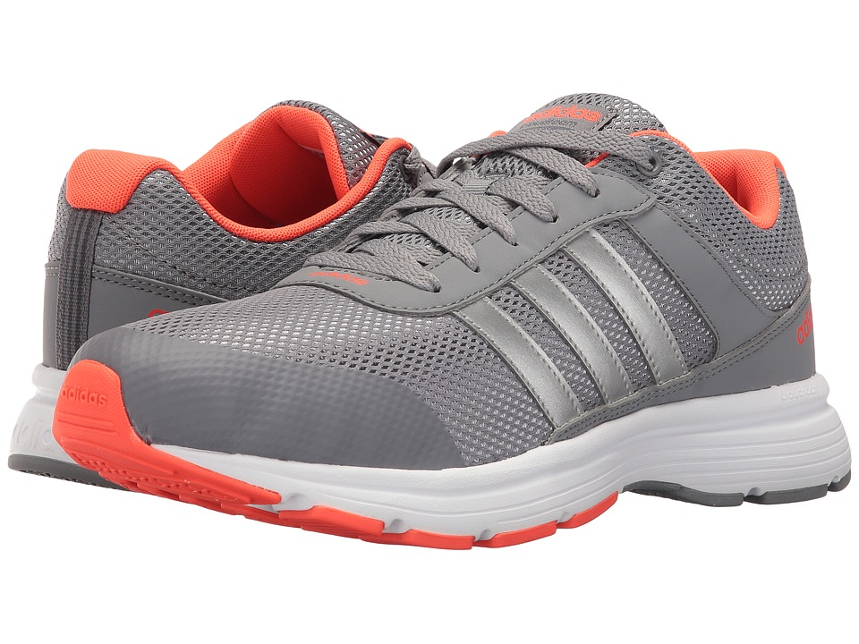 adidas - Cloudfoam VS City (Grey/Silver Metallic/White) Men's Running Shoes