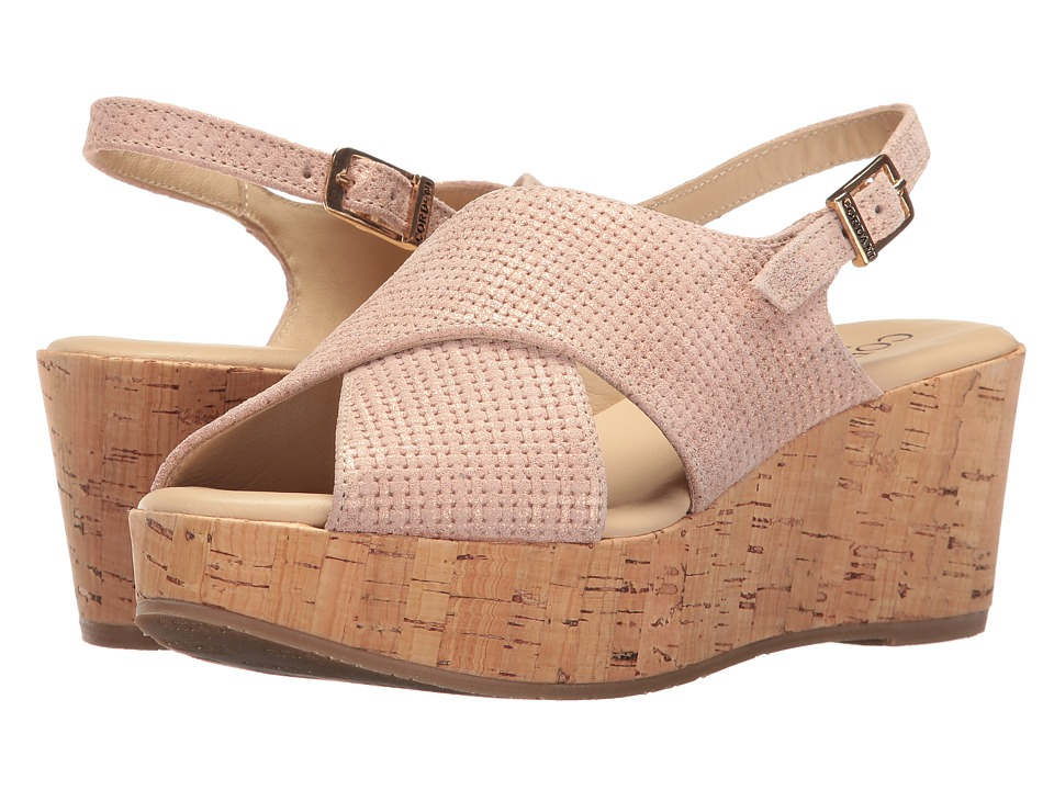 Cordani - Delight (Blush Texture) Women's Wedge Shoes