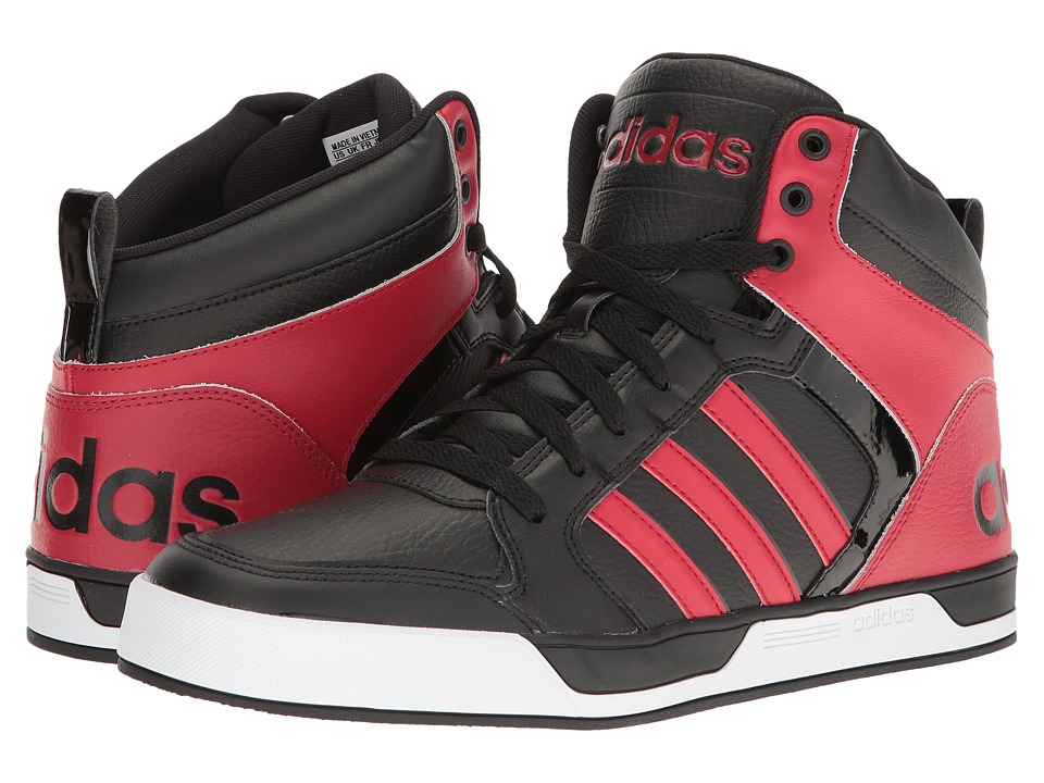adidas - Raleigh 9TIS Mid (Black/Bold Red/Black) Men's Shoes