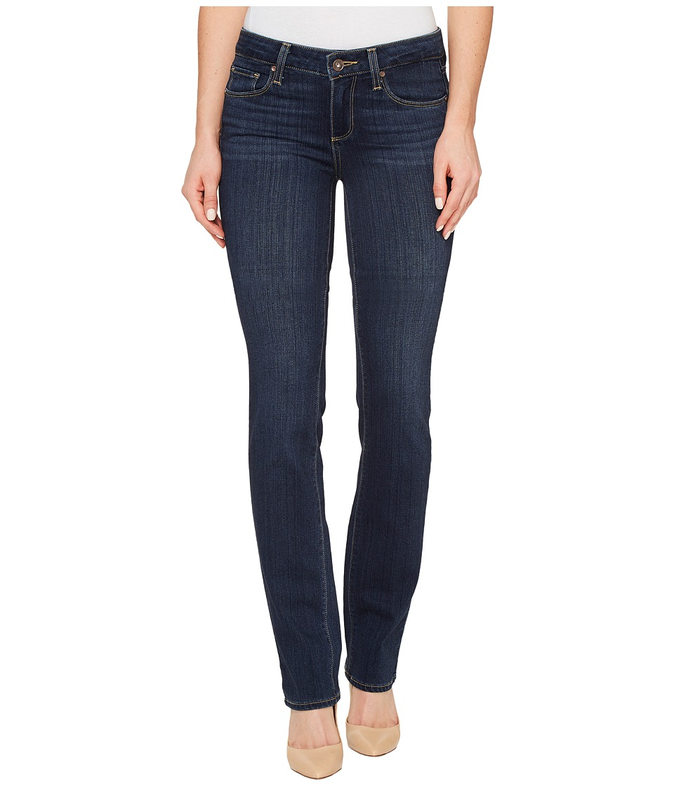 Paige - Skyline Straight in Avi (Avi) Women's Jeans