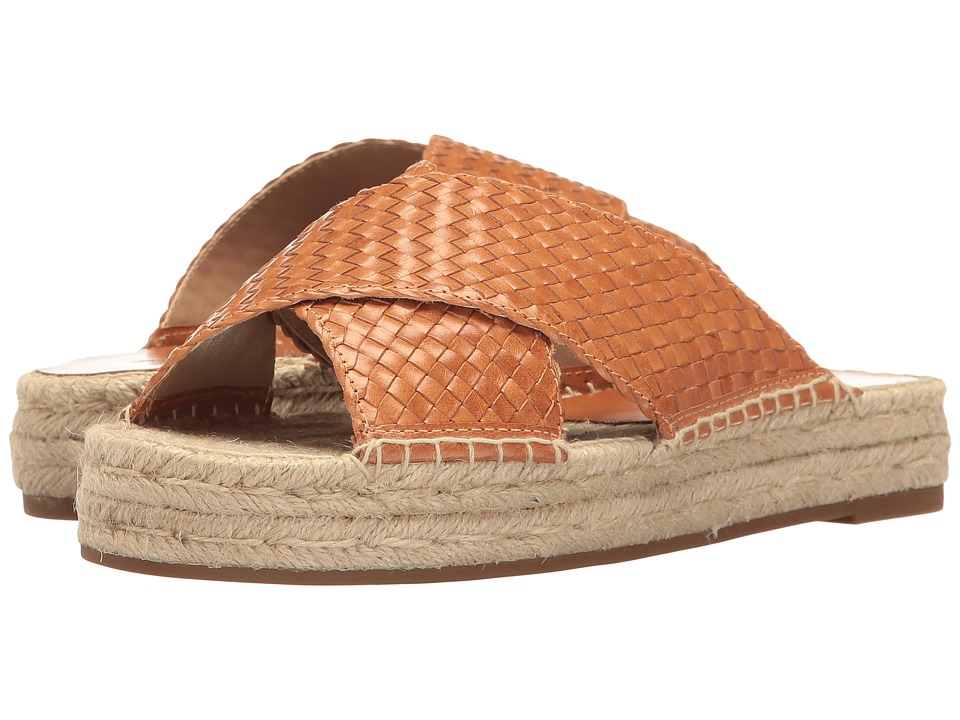 Michael Kors - Destin (Rattan Woven Leather/Jute) Women's Slippers