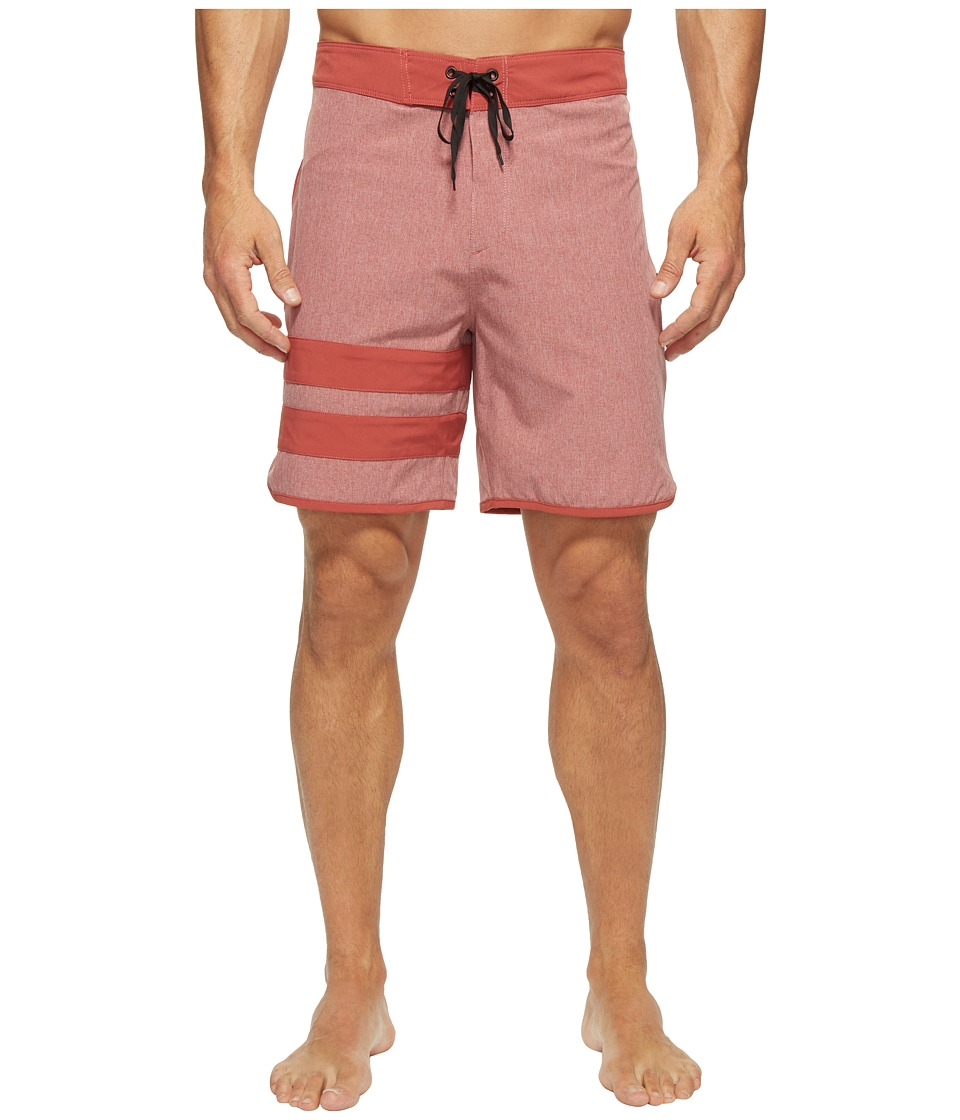 Hurley - Phanton Block Party Heather 2.0 (Cedar) Men's Swimwear