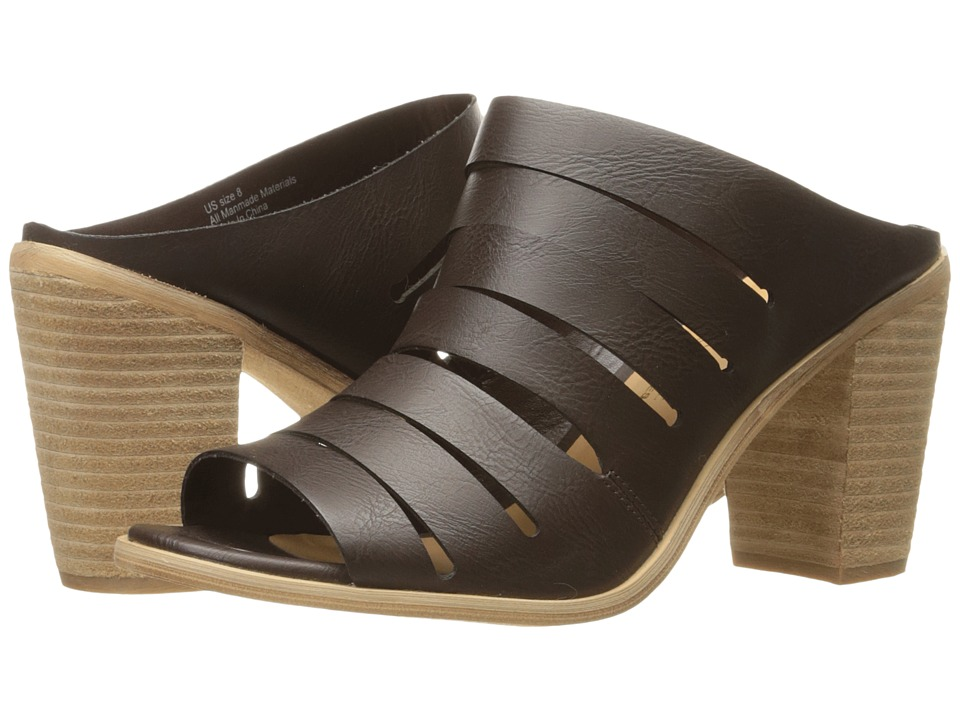 VOLATILE - Splice (Brown) Women's Sandals