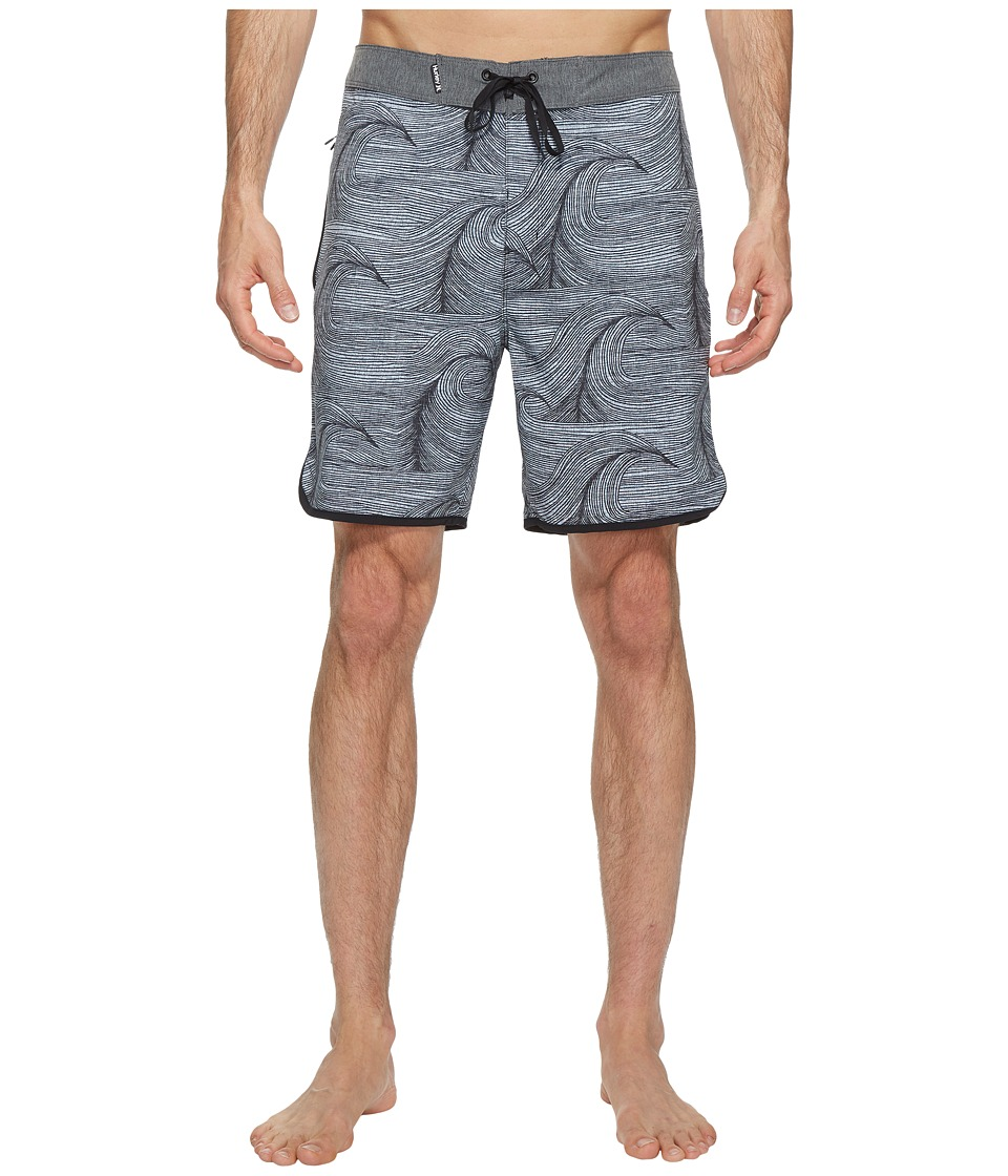 Hurley - Phantom Brooks 18 Boardshorts (Anthracite) Men's Swimwear