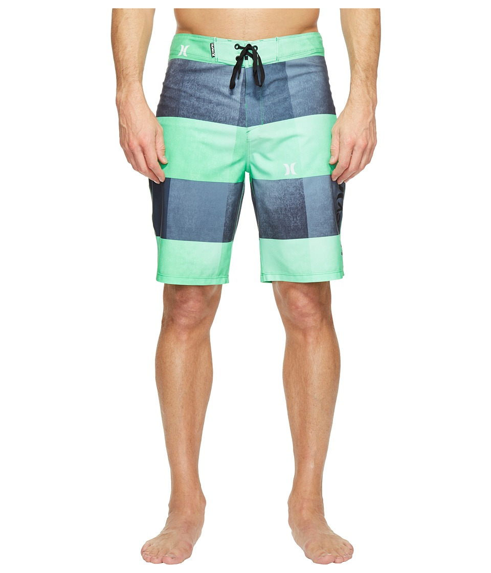 Hurley - Phantom Kingsroad 20 Boardshorts (Electro Green) Men's Swimwear