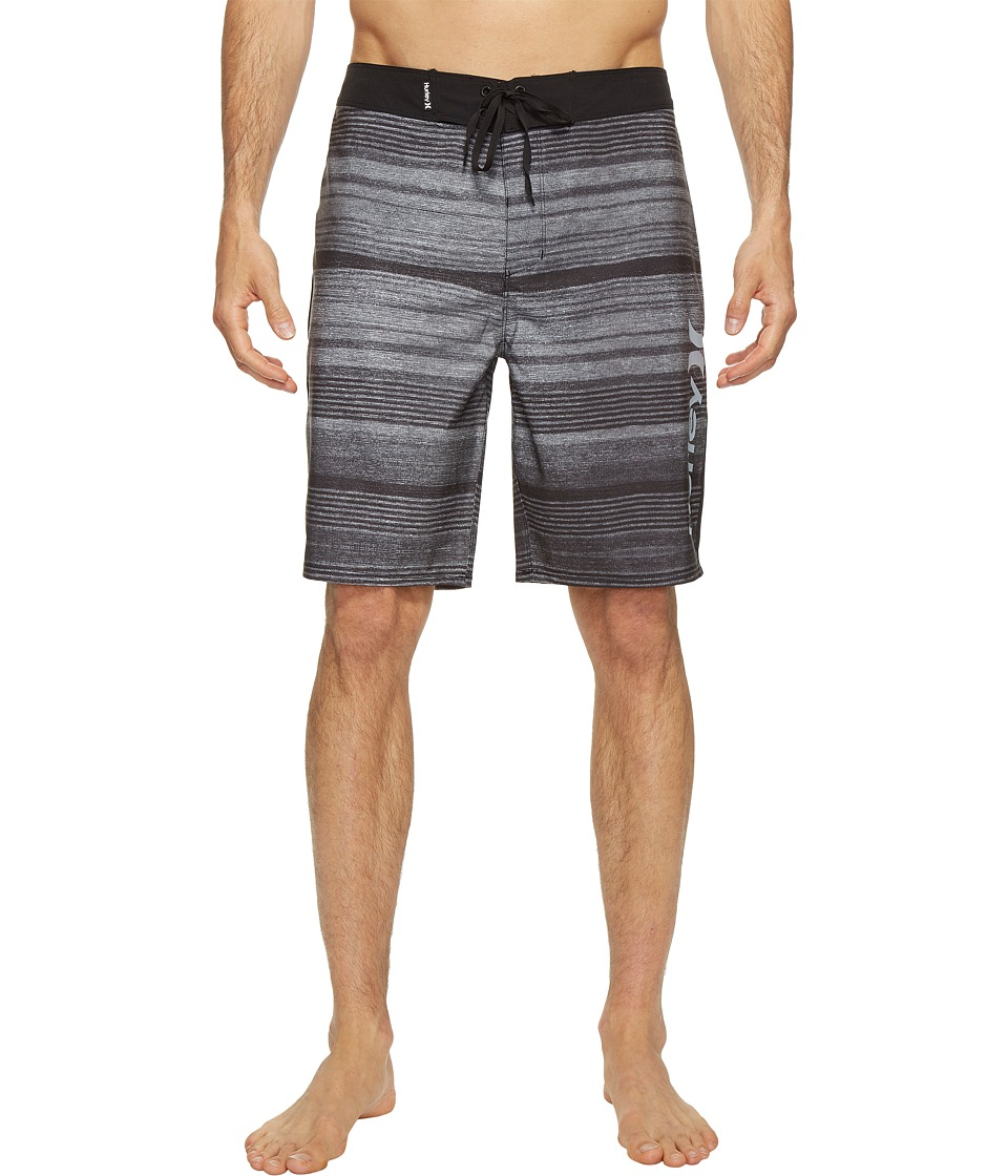 Hurley - Phantom Sandbar 20 Boardshorts (Black) Men's Swimwear