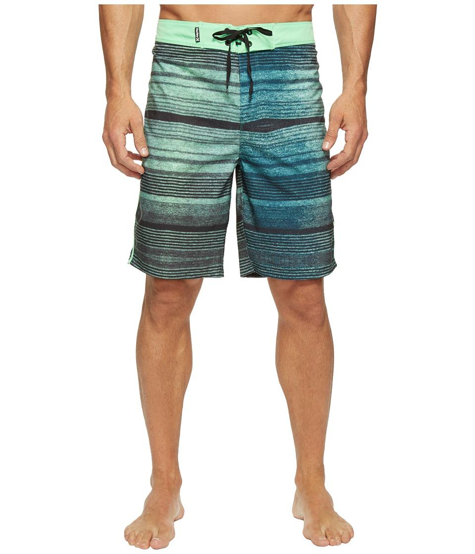 Hurley Phantom Sandbar 20 Boardshorts (Electro Green) Men