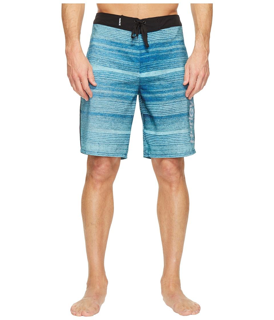 Hurley Phantom Sandbar 20 Boardshorts (Chlorine Blue) Men