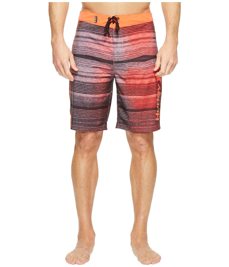 Hurley Phantom Sandbar 20 Boardshorts (Bright Crimson) Men