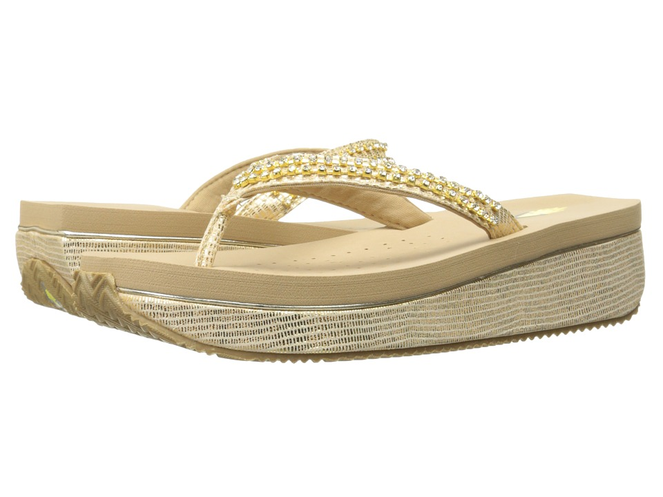 VOLATILE - Gabby (Gold) Women's Sandals