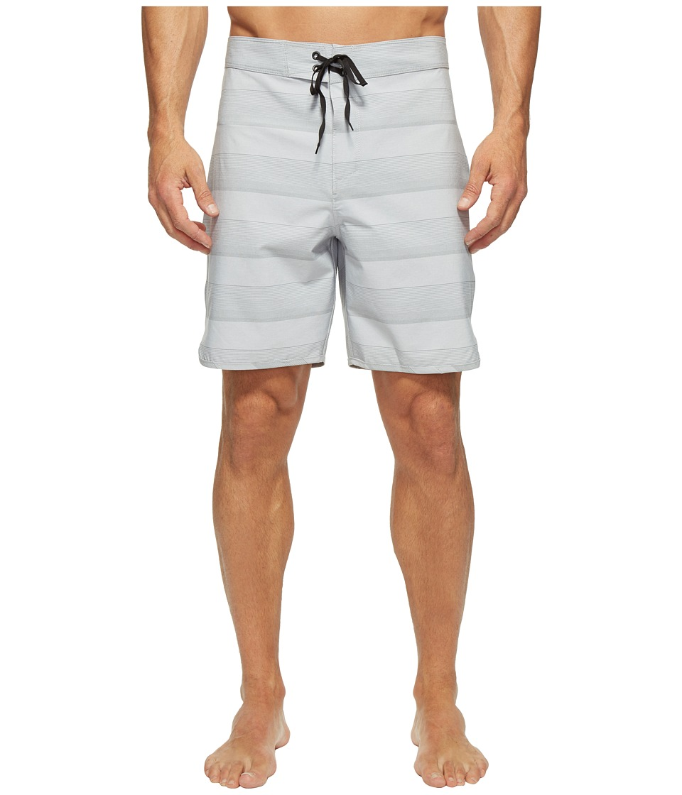 Hurley - Phantom Strike 19 Boardshorts (Wolf Grey) Men's Swimwear