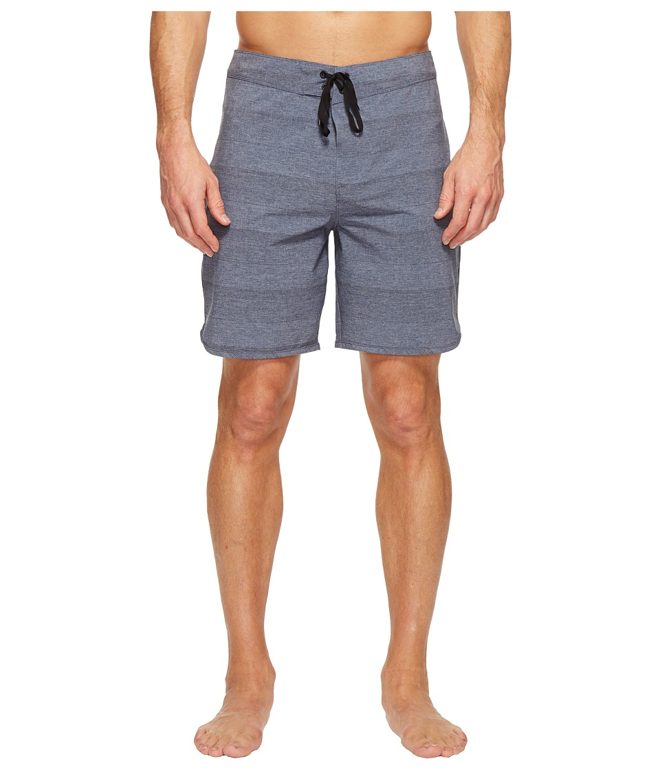 Hurley - Phantom Strike 19 Boardshorts (Obsidian) Men's Swimwear