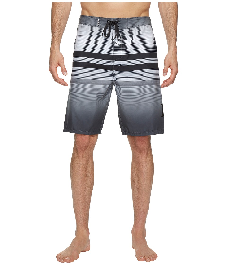 Hurley - Southswell 21 Boardshorts (Black) Men's Swimwear