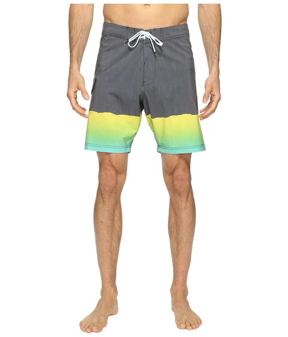 VISSLA - So Stoked Four-Way Stretch Boardshorts 18.5 (Phantom) Men's Swimwear