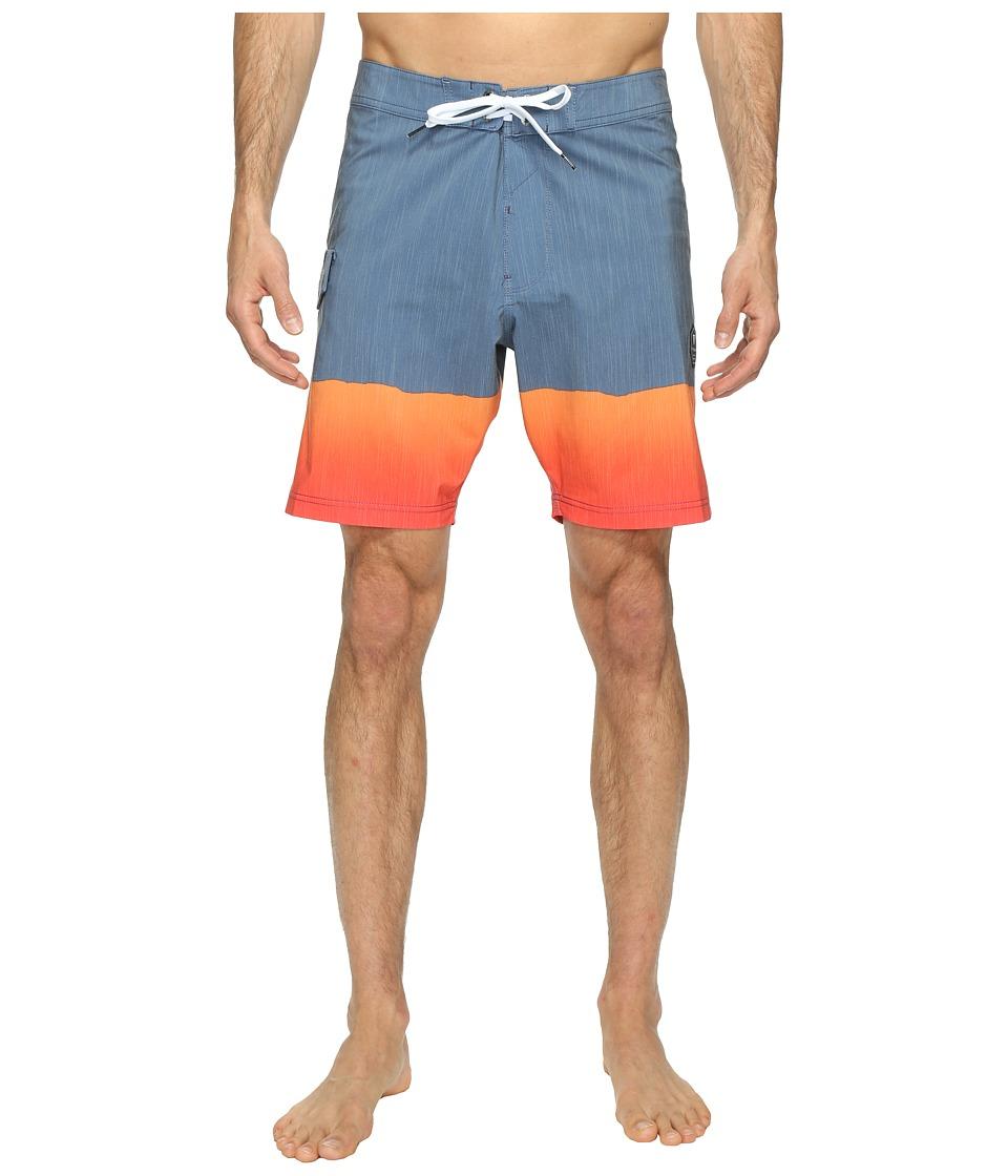 VISSLA - So Stoked Four-Way Stretch Boardshorts 18.5 (Strong Blue) Men's Swimwear