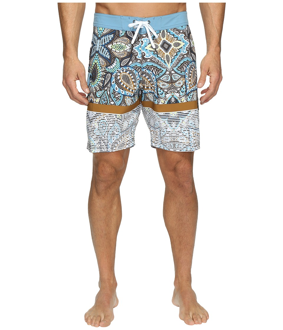 VISSLA - Shark Alley Four-Way Stretch Boardshorts 18.5 (Java) Men's Swimwear