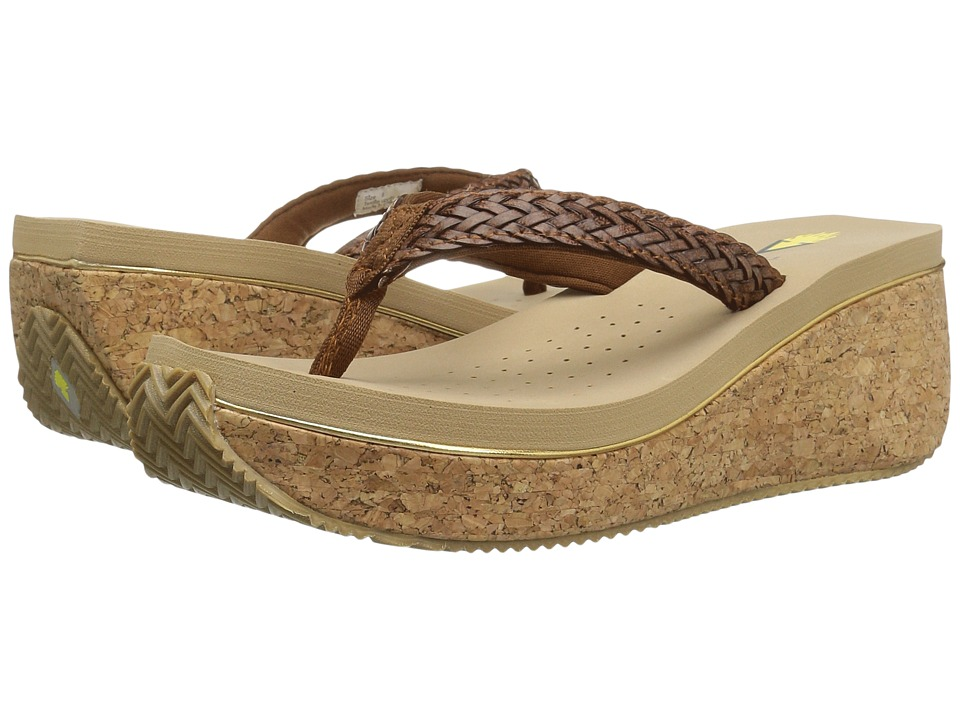VOLATILE - Fay (Brown) Women's Wedge Shoes