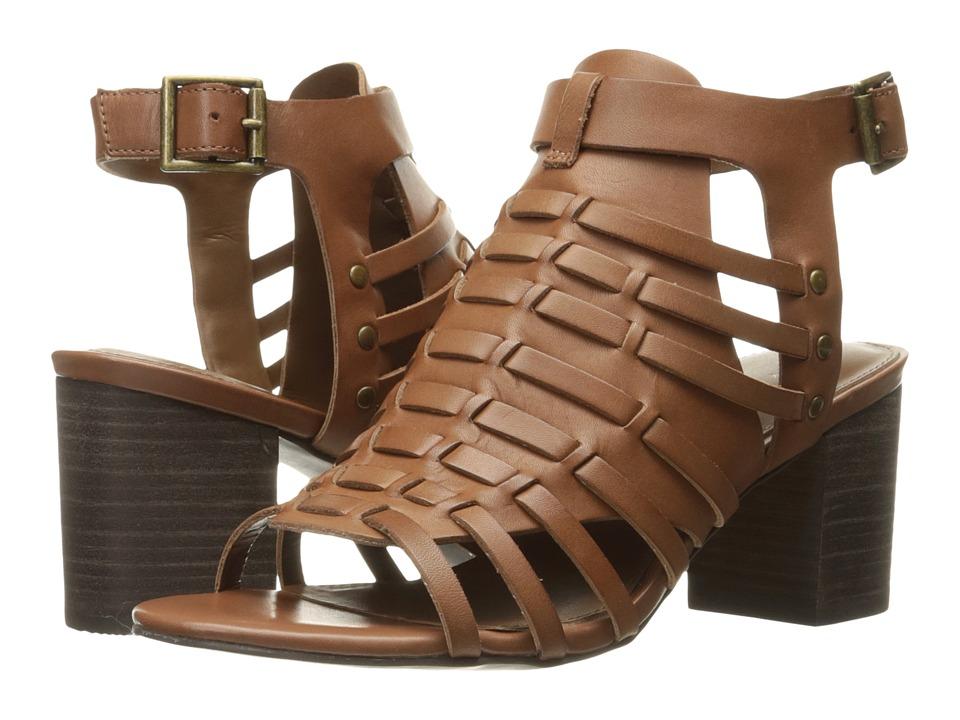 VOLATILE Vertical (Tan) High Heels