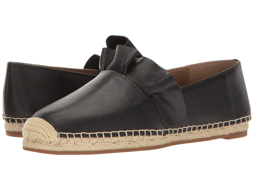 Michael Kors - Laticia (Black Nappa/Jute) Women's Slip on Shoes