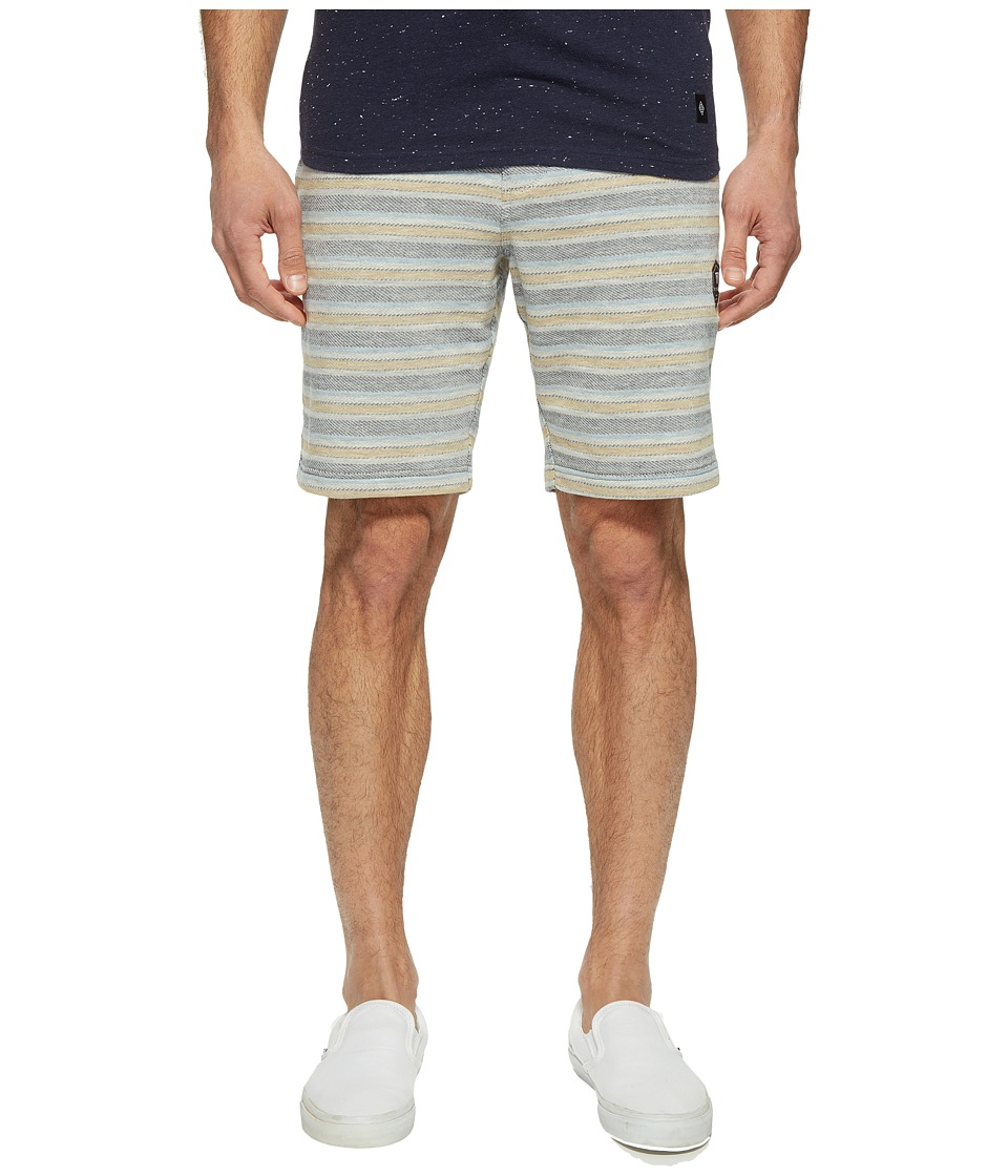 VISSLA - Sofa Surfer The Box Fleece Shorts 19.5 (Grey Heather) Men's Shorts
