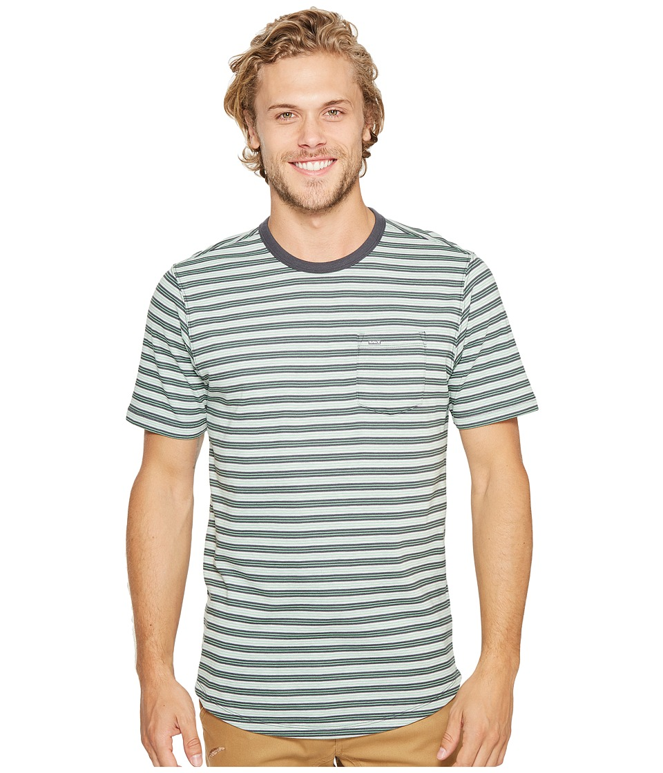 Hurley - Dri-Fit Tower 5 Crew (Sail Heather) Men's Clothing