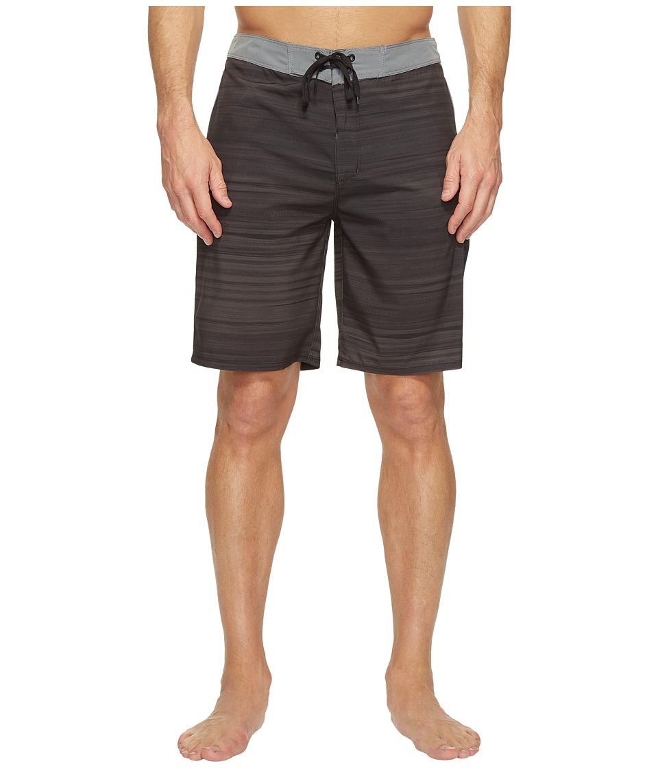 Hurley - Phantom Beachside Slider 20 Boardshorts (Black) Men's Swimwear