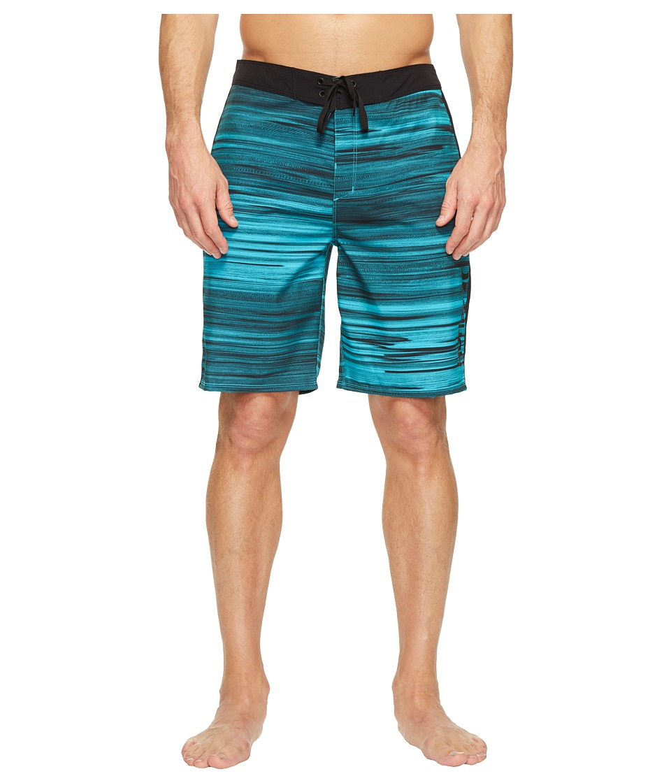 Hurley - Phantom Beachside Slider 20 Boardshorts (Cholorine Blue) Men's Swimwear