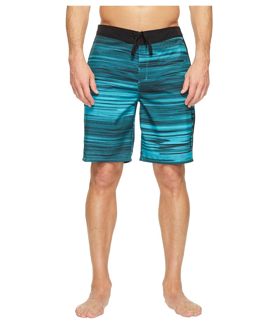 Hurley - Phantom Beachside Slider 20 Boardshorts (Cholorine Blue) Men's Swimwear