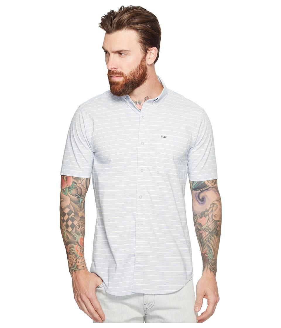 Hurley - Riser Short Sleeve Woven (Game Royal) Men's Clothing