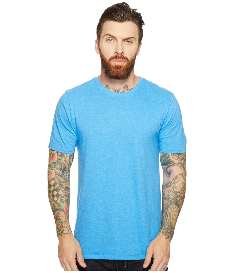 Hurley - Staple Crew (Light Photo Blue Heather) Men's Clothing