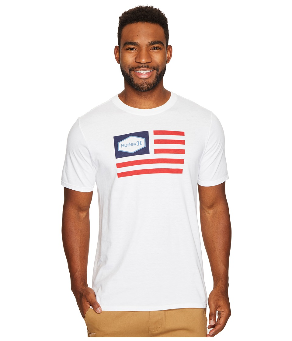 Hurley - Homeland Tee (White) Men's T Shirt