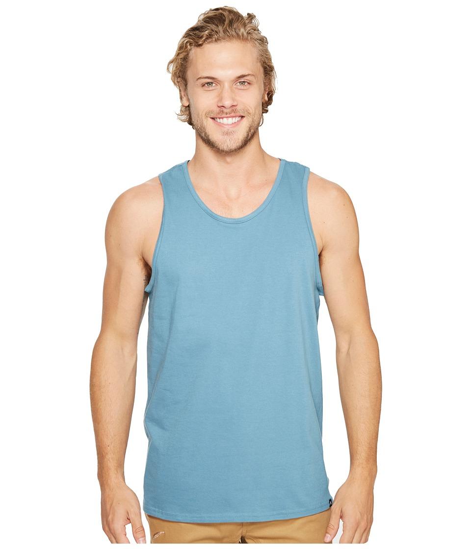 Hurley - Staple Tank Top (Smokey Blue) Men's Sleeveless