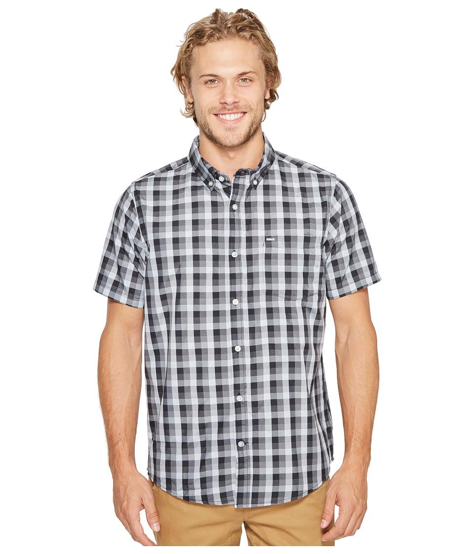 Hurley - Dri-Fit Havoc Short Sleeve Woven (Black) Men's Clothing