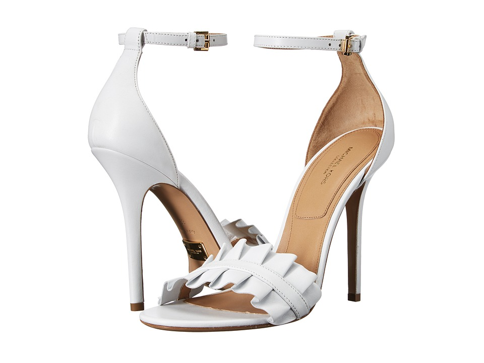 Michael Kors - Priscilla (Optic White Nappa) High Heels