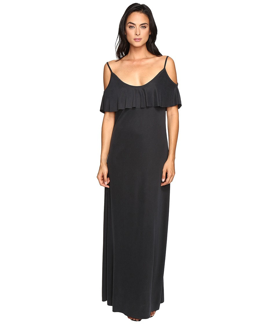 Three Dots - Slip Dress (Black) Women's Dress