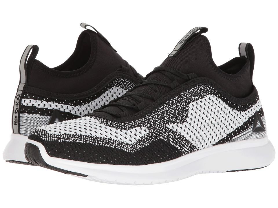 Reebok - Plus Runner ULTK (White/Black) Men's Running Shoes