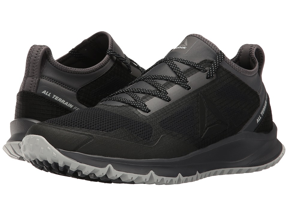 Reebok - All Terrain Freedom (Black/Ash Grey/Skull Grey/White/Pewter) Men's Running Shoes