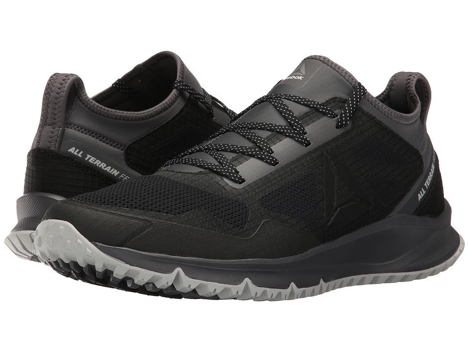 Reebok - All Terrain Freedom (Black/Ash Grey/Skull Grey/White/Pewter) Men's Running Shoes