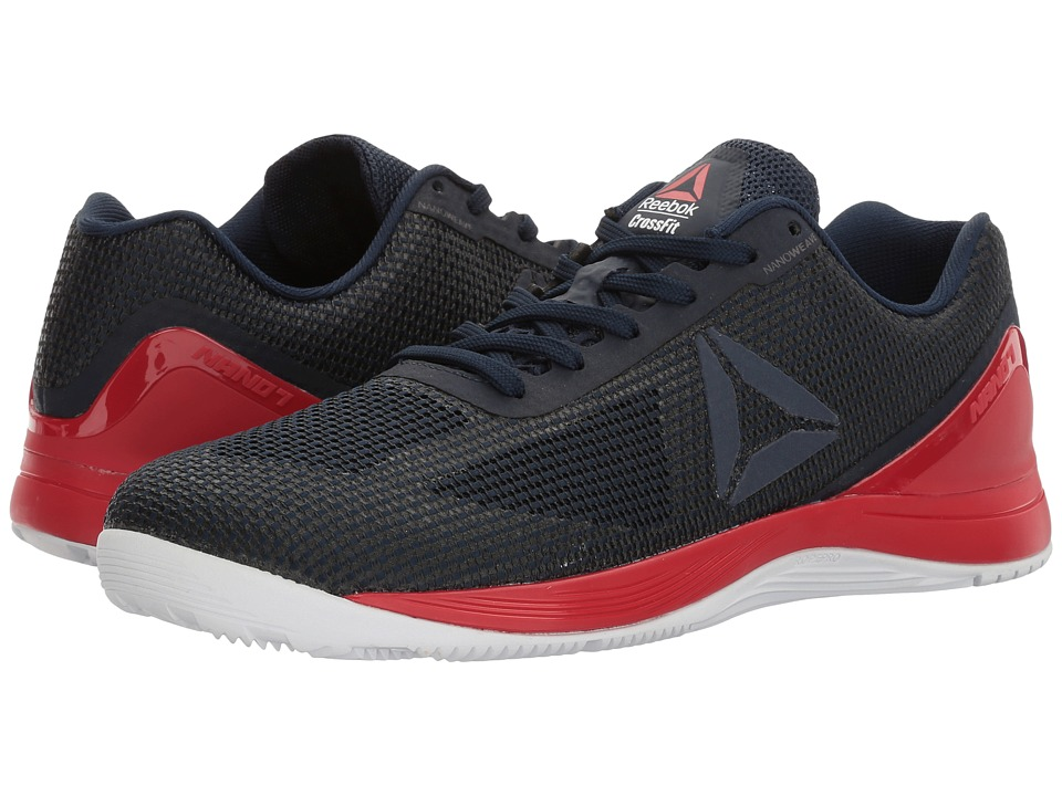 Reebok - Crossfit Nano 7.0 (Collegiate Navy/Primal Red/White/Black) Men's Cross Training Shoes
