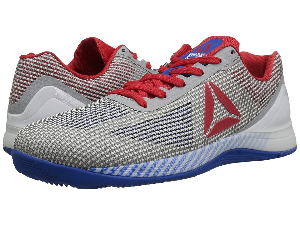 Reebok - Crossfit Nano 7.0 (White/Awesome Blue/Primal Red/Black/Skull Grey) Men's Cross Training Shoes