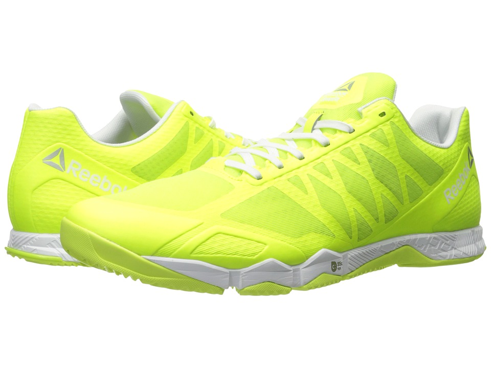Reebok - Crossfit Speed TR (Solar Yellow/Silver Metallic) Men's Shoes