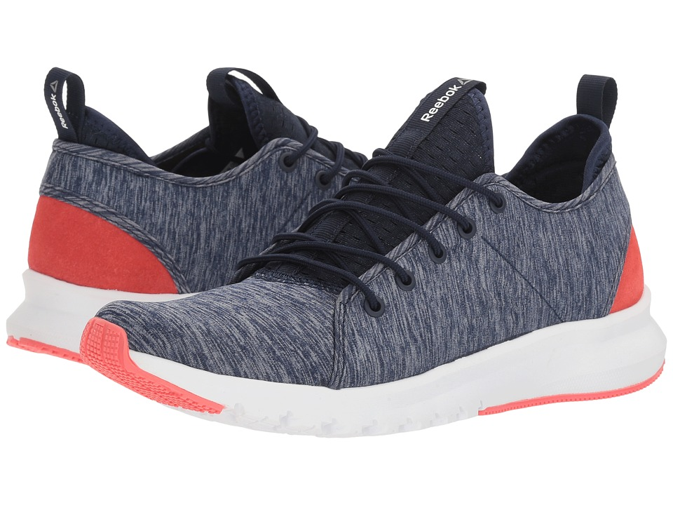 Reebok Plus Lite (Collegiate Navy/White/Fire Coral) Women