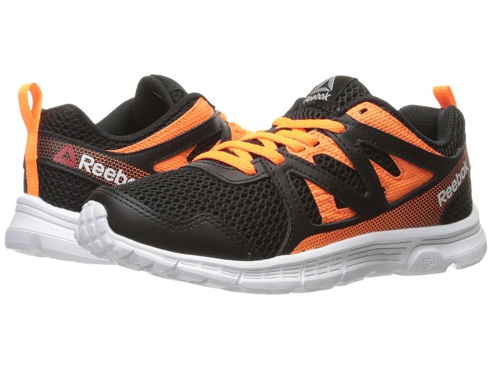 Reebok Kids - Run Supreme 2.0 (Little Kid/Big Kid) (Black/Wild Orange/White) Boys Shoes