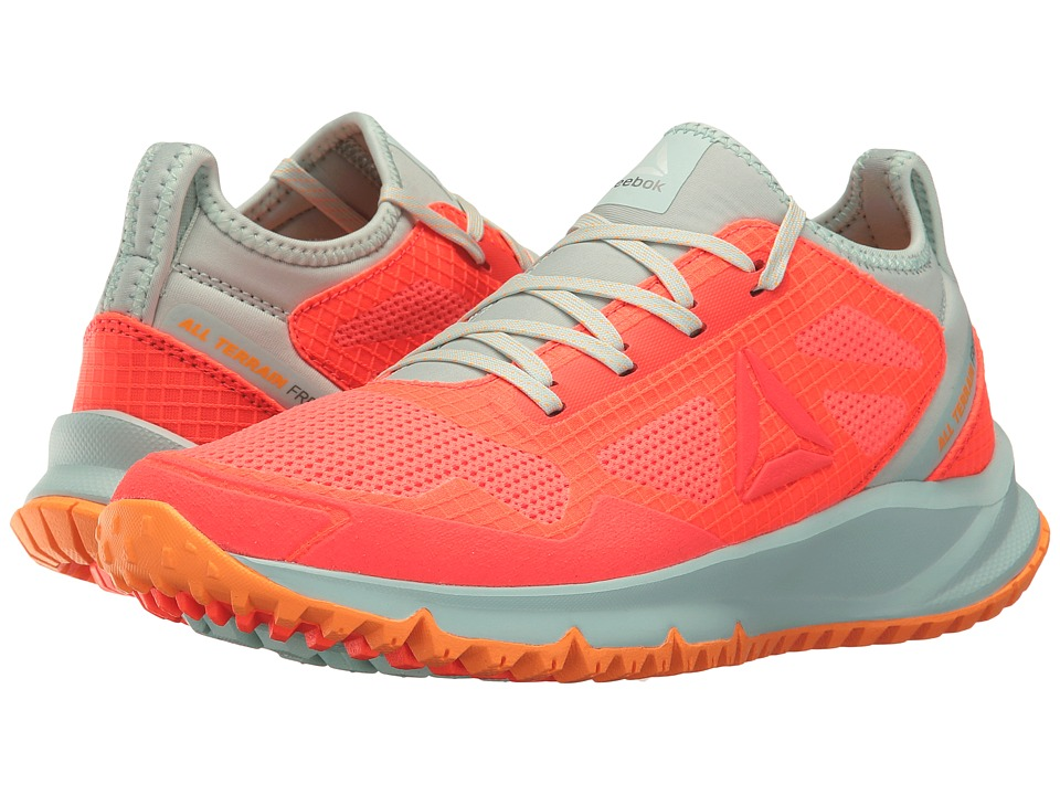 Reebok All Terrain Freedom (Vitamic C/Mist/Fire Spark/White/Asteroid Dust) Women