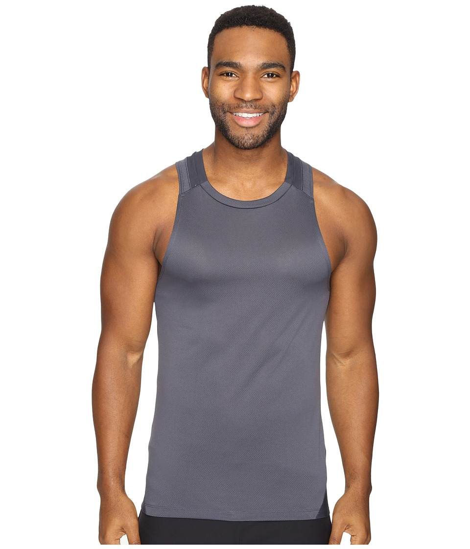 Onzie - Muscle Tank Top (Heather Gray) Men's Sleeveless