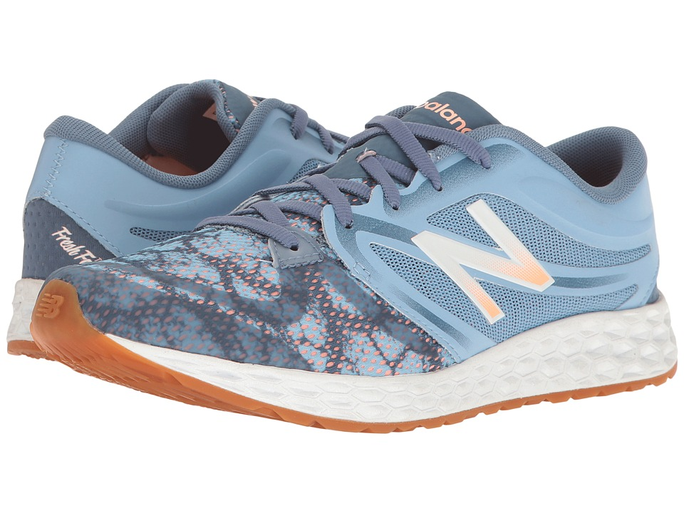 New Balance - WX822v3 (Deep Porcelain Blue/Bleached Sunrise) Women's Shoes