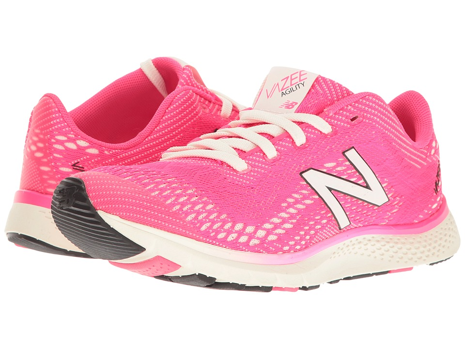 New Balance - Vazee Agility (Alpha Pink/White/Black) Women's Running Shoes