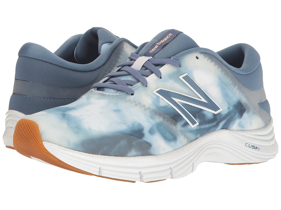 New Balance - WX711v2 (Deep Porcelain Blue/White) Women's Cross Training Shoes