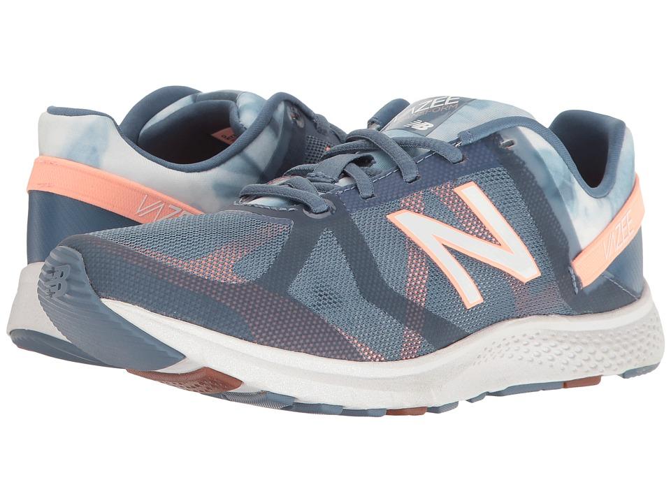 New Balance - WX77v1 (Deep Porcelain Blue/Bleached Sunrise) Women's Shoes