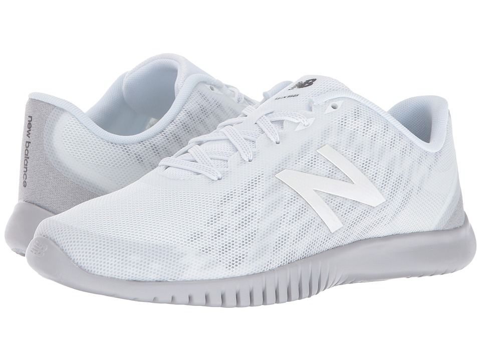 New Balance - WX66v1 (White/Silver Mink) Women's Shoes